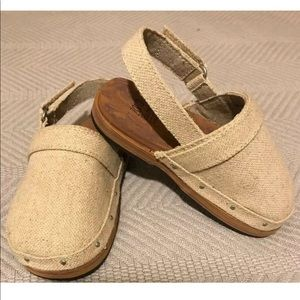 Zara Burlap Clogs - Toddler Girl's EU 22 (6.5 US)